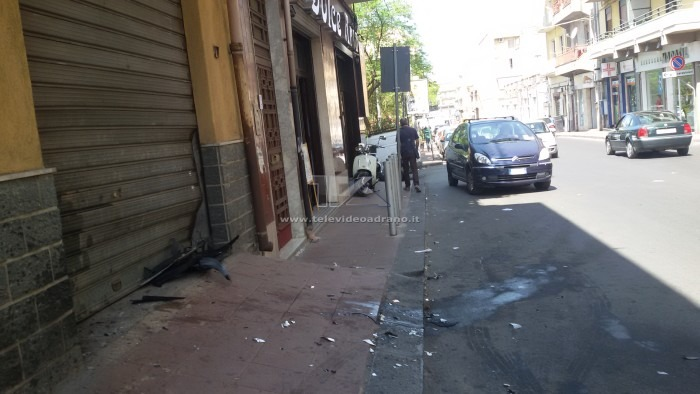 incidente via catania